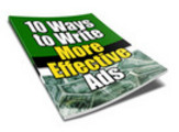 Thumbnail Ten Ways to More Effective Ads